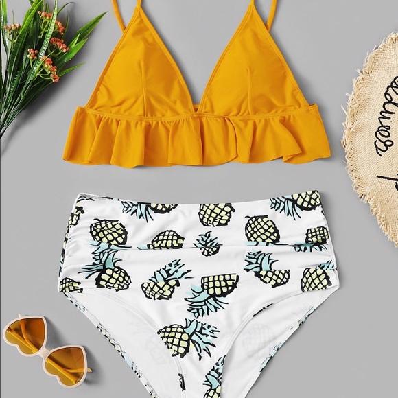 SheIn/ Plus Size/ Two-Piece / Swimsuit/ brand new NWT